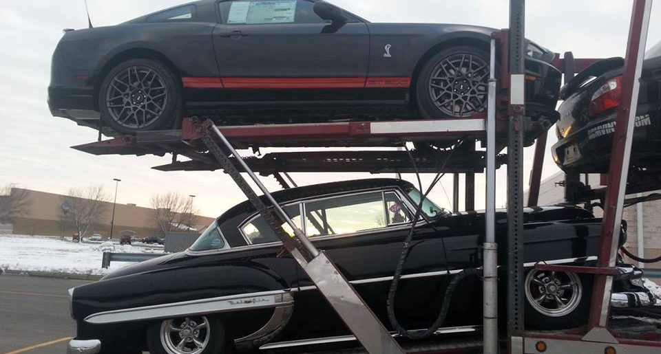 Shipping your classic car economically with open transport