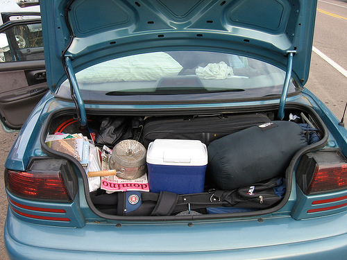 Tips for putting items in your car during transport